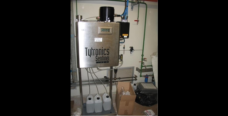 analyseur en ligne Tytronics 8